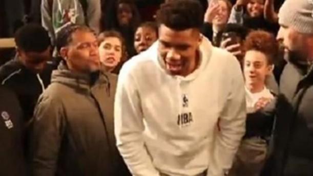 Ο Giannis ξεσήκωσε και το Παρίσι (βίντεο)