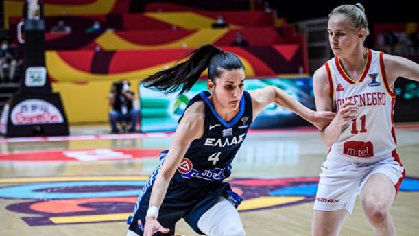 Ευρωμπάσκετ - Εθνική γυναικών: ήττα στην πρεμιέρα με Μαυροβούνιο