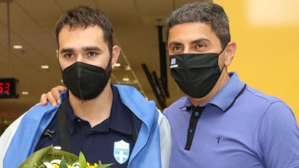 Ολυμπιακοί Αγώνες - Ιακωβίδης: Επέστρεψε στην Αθήνα (εικόνες)