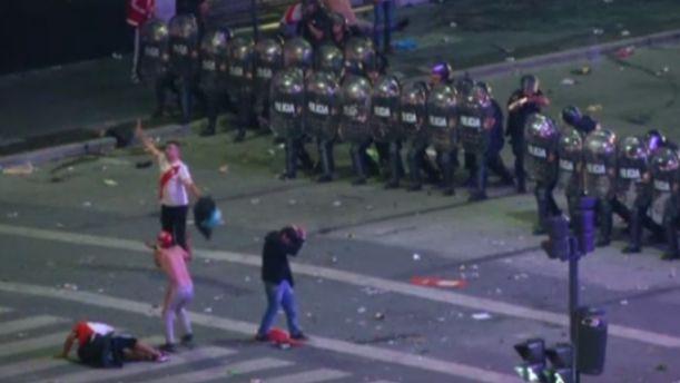 Με επεισόδια… γιόρτασαν την κατάκτηση του Copa Libertadores από την Ρίβερ Πλέιτ (βίντεο)