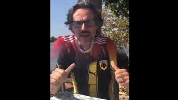 Επικό βίντεο του Γερμανού πρέσβη για τον αγώνα ΑΕΚ - Μπάγερν