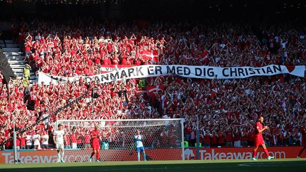 Euro 2020: Αποθέωση για Έρικσεν στο Δανία-Βέλγιο (βίντεο)