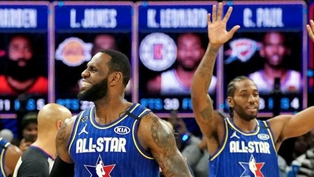 All Star Game: νίκησε ξανά η ομάδα του Λεμπρόν Τζέιμς